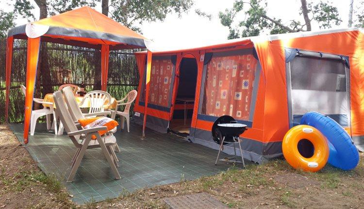 Camping Etruria - Bungalowtent 2