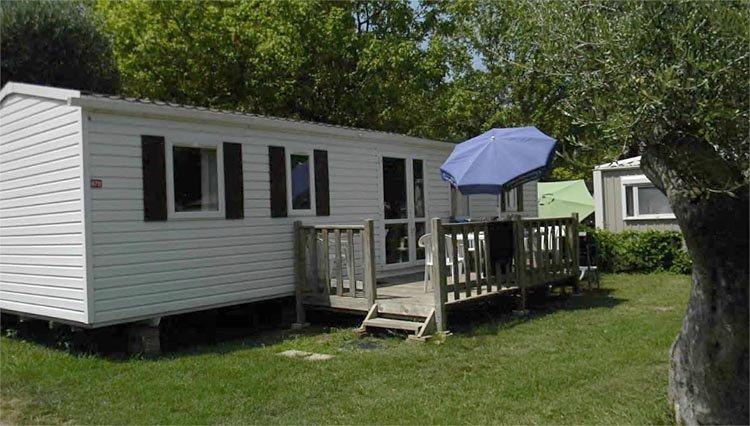 Stacaravan Platinum - exterieur Camping La Sirène
