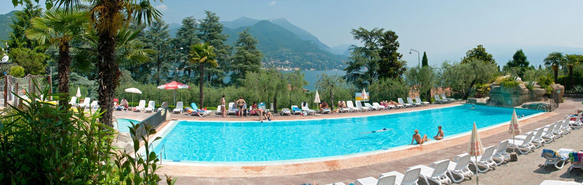 Campingplatz Eden, Gardasee, Italien