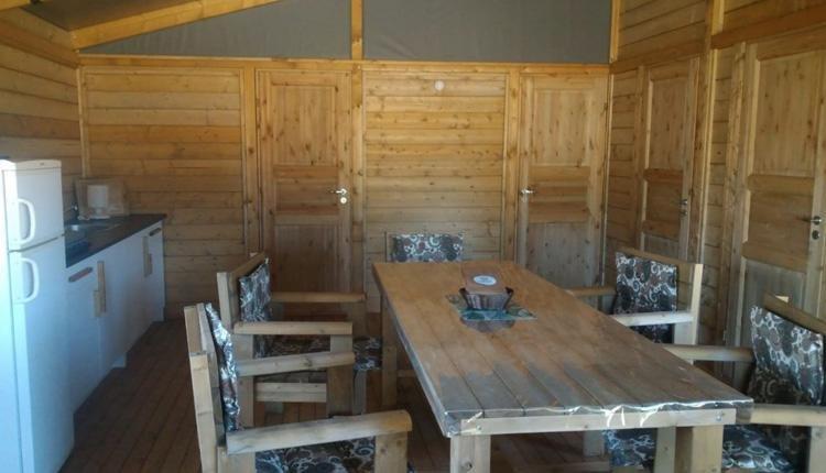 safari lodge woonruimte