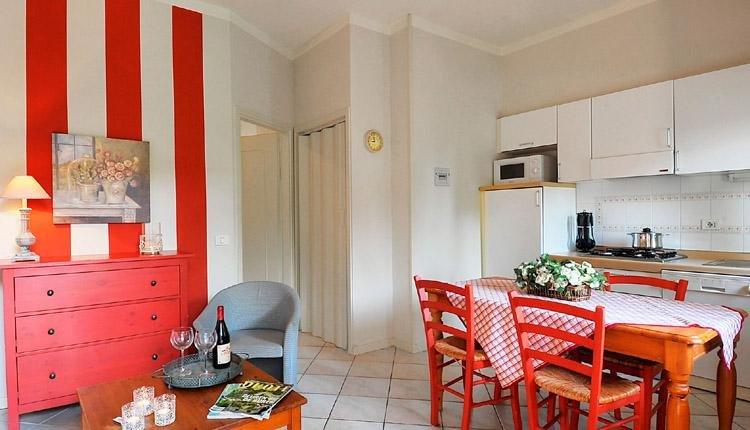 Gabbiano Casa Oleandri keuken