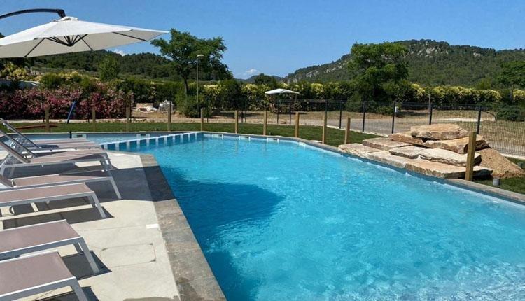 Camping Olivigne zwembad