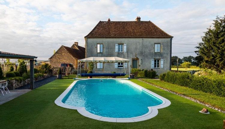 La Maison Bornat zwembad