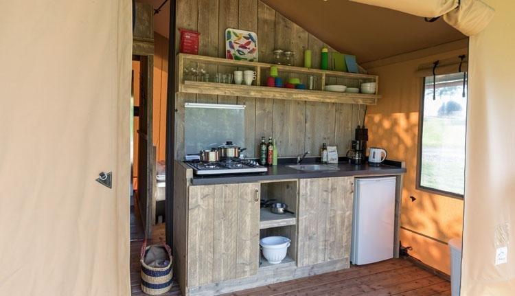 safaritent tendi keuken