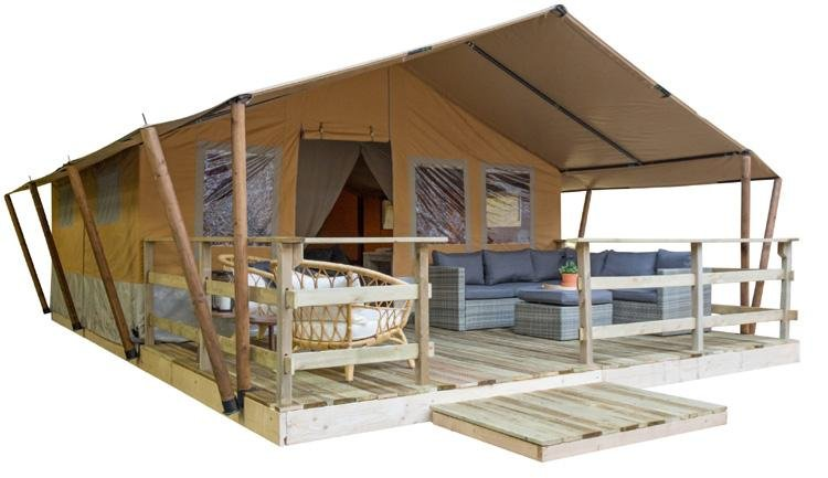 Budget Glamping Safaritent