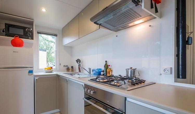 Duinrell stacaravan Moda keuken
